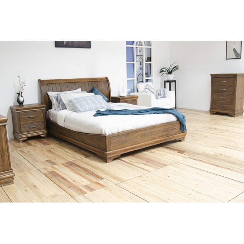 (D15-61) Queen Bed Suite with Tallboy+Dresser